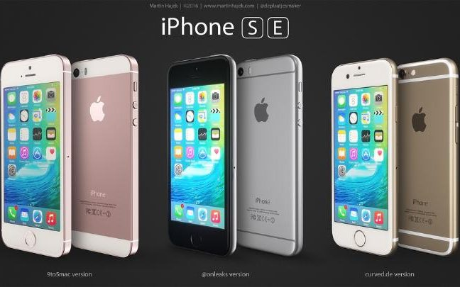 iphone se specs release date design