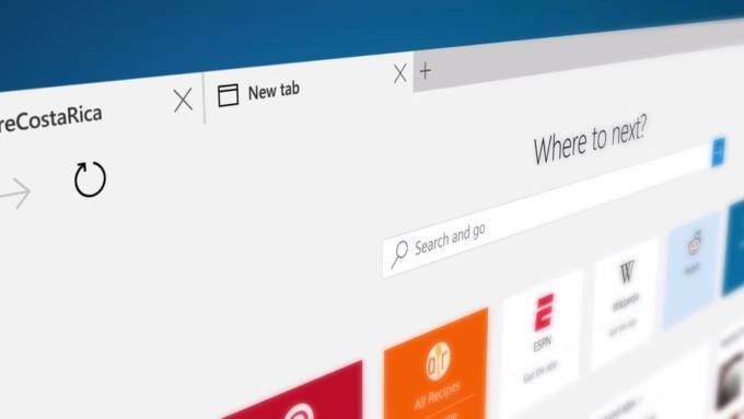 edge browser screenshot