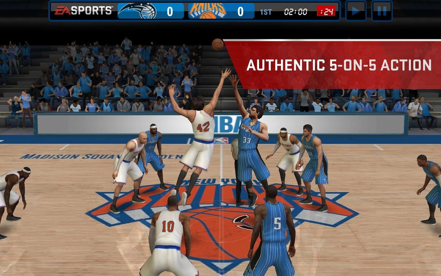 nba live mobile review and apk download