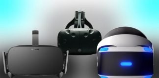 Oculus Rift, HTC Vive, PlayStation VR