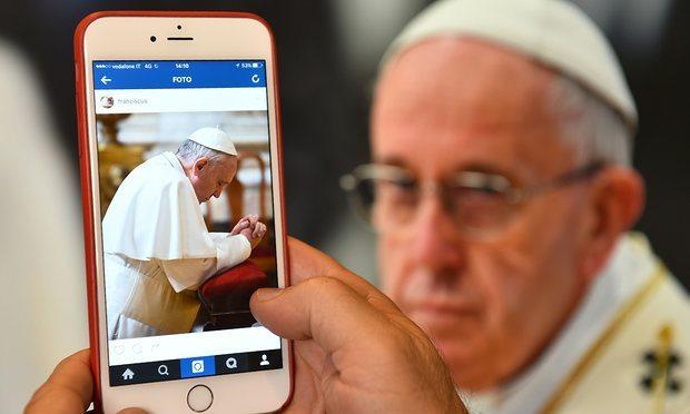 pope instagram