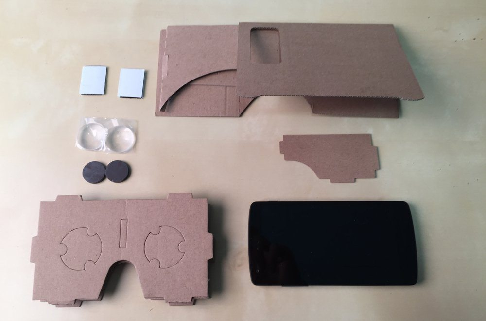 How to make Google Cardboard