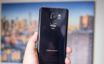 galaxy note5 verizon android marshmallow