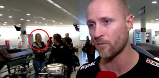 A bewildering clip from a live tv interview aired by Denmark's TV2 channel shows a woman in the background vanishing into the thin air. Expectedly, the video soon went viral and got everyone pondering what could be the explanation behind the mysterious footage. Even the woman herself was not sure what happened. In the video below, you can see the coach for Denmark's women's national handball team being interviewed by the tv channel. However, it is the background that remains the focal point of the video. A woman who can be seen standing behind the coach, disappears within a blink eye as another woman momentarily obscures her from the frame. https://www.youtube.com/watch?v=RmjFvrJgOIc Admittedly, the internet is full of such spooky videos showing unexplainable events and phenomenon, but this was different from most of them as footage had been aired live and there was no evidence it was doctored. While many believe there was something supernatural going in the background of the video, hence this mysterious disappearance, actually it may have been just an illusion caused caused by synchronous movement of the two women in the background. If you watch closely, the blonde woman turns a little toward left just when the lady with the baggage was about to obscure her from the view. That was probably because she was about to walk off to the left. Presumably she moved at the same pace as the lady in the foreground, causing the illusion.