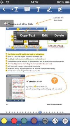 edit pdf files on iphone