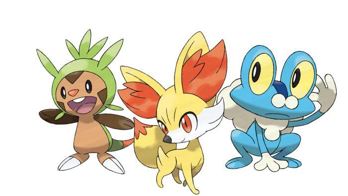 Pokémon X Y starters