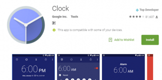 clock apk download