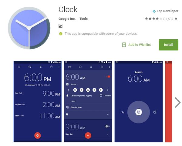 clock apk download