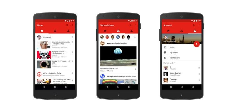 youtube apk download android