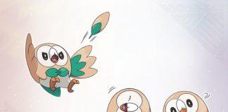 Pokémon Sun and Moon Rowlet