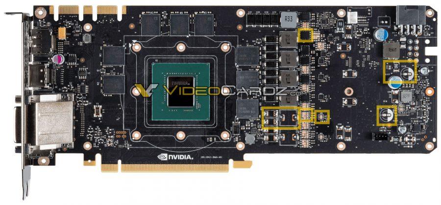 GTX 1070 PCB