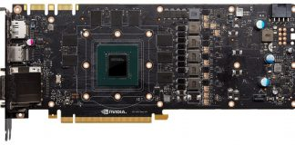 GTX 1080 PCB