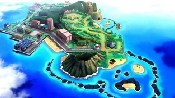 Pokémon Sun and Moon Alola Region