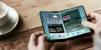 galaxy x foldable smartphone