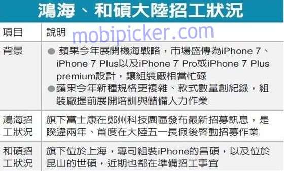 iphone 7 three variants info