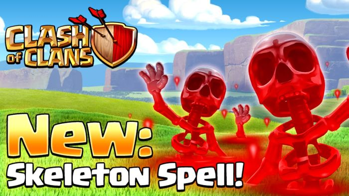 Clash of Clans Skeleton Spell