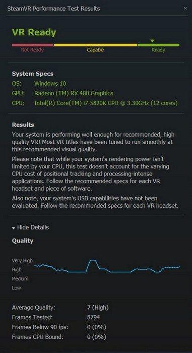 AMD Radeon RX 480 VR 2