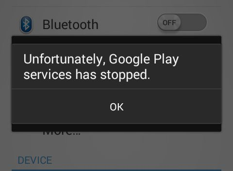 Image result for Google play services error