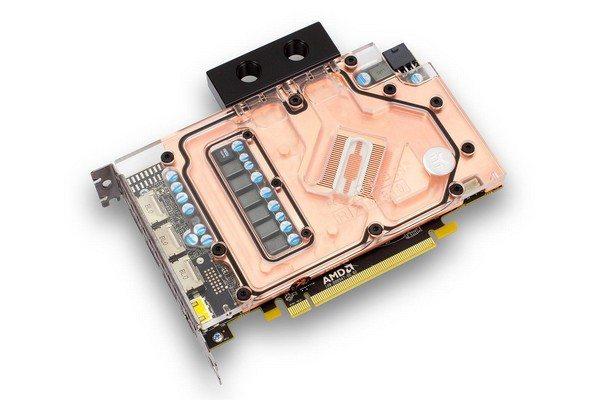RX 480 OC custom water block