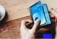 Samsung-Foldable-prototype galaxy x