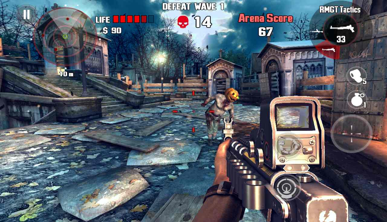 Dead Trigger best shooting games for android