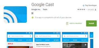 Google Cast is discontinued