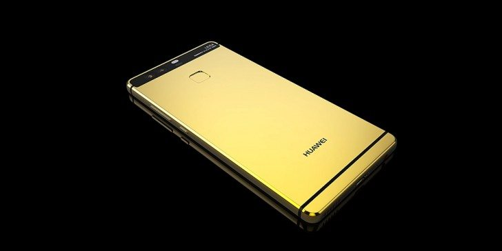 huawei p9 gold plated rear