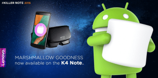 lenovo k4 note android marshmallow