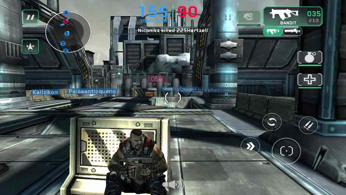 Shadowgun best shooting games for android