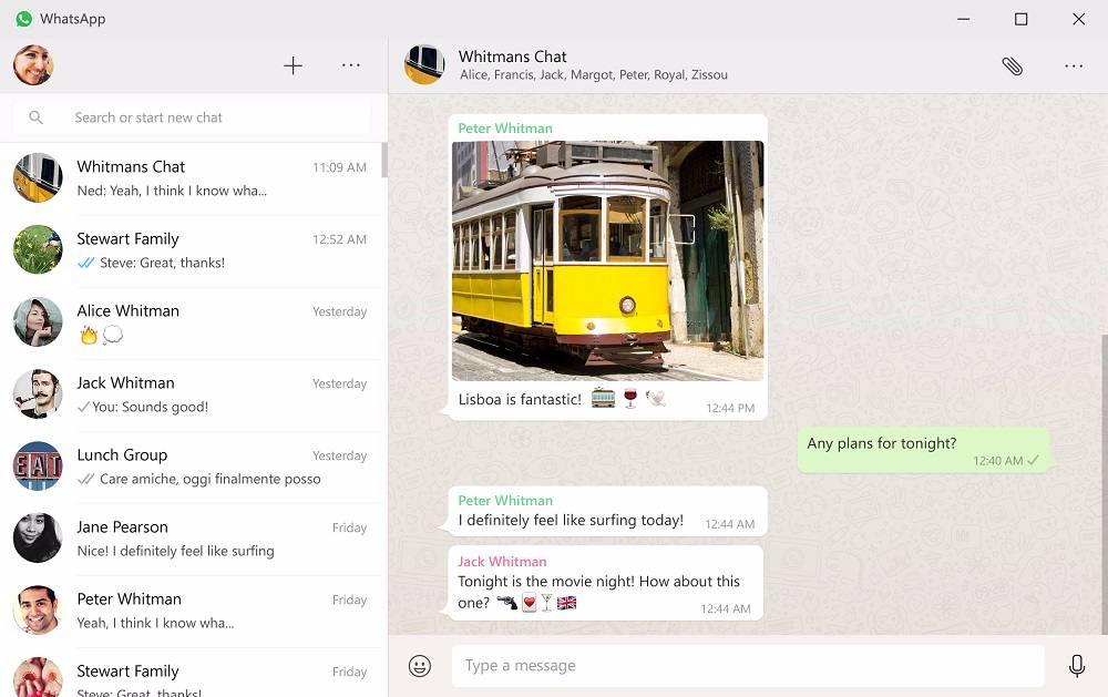 whatsapp desktop windows pc mac download