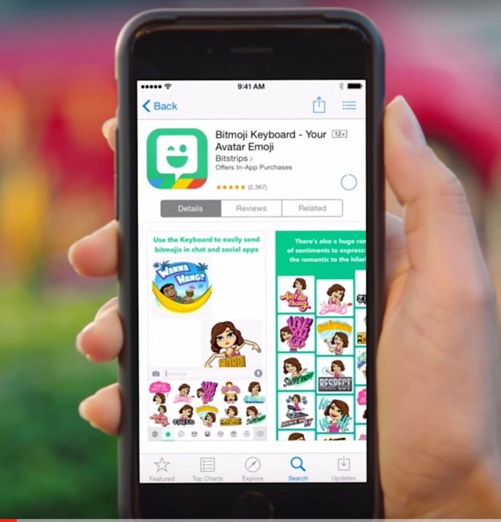 how to use bitmoji on snapchat