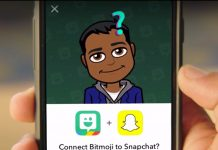 bitmoji on snapchat
