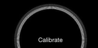 calibrate iphone