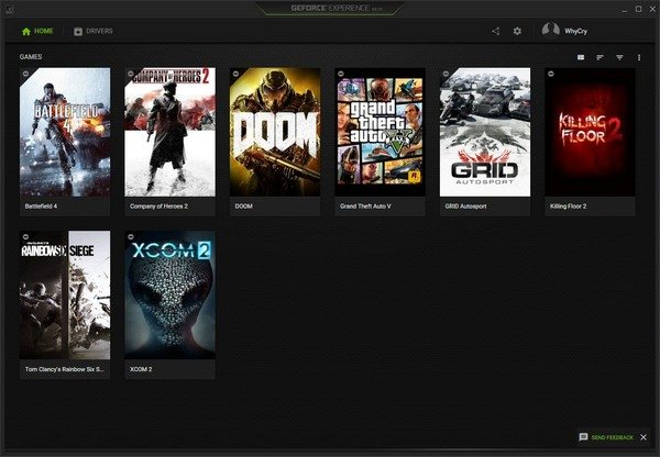 GeForce Experience 3.0 1