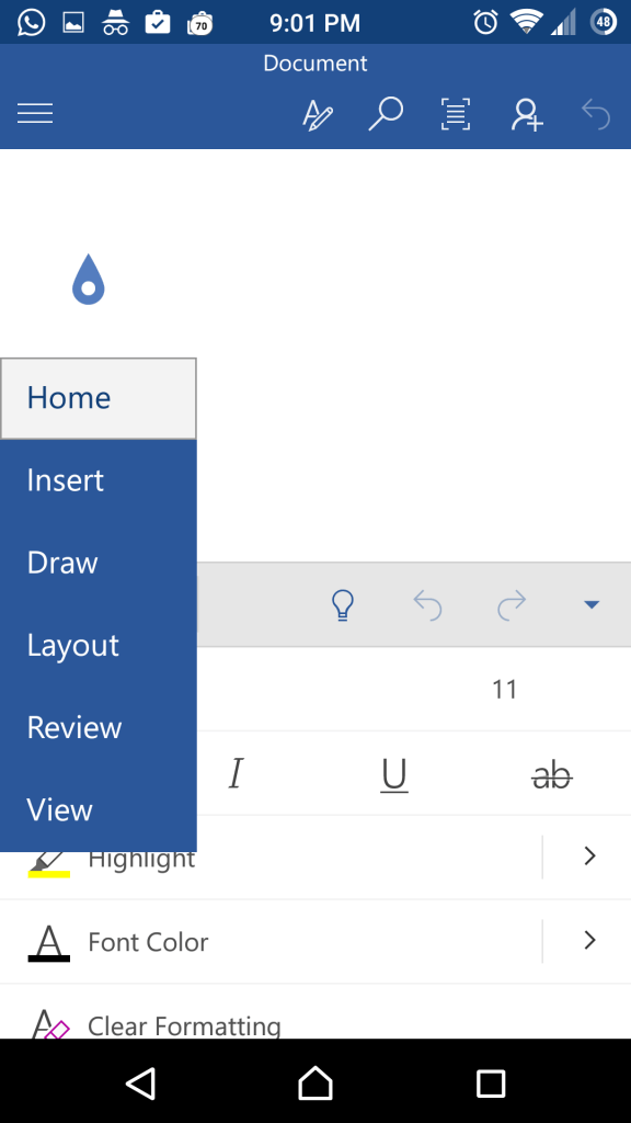 The new inking feature