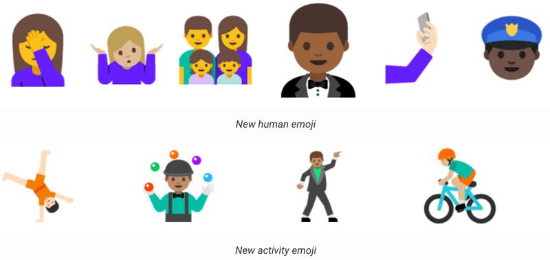 android n new emoji