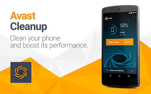 avast cleanup cache cleaner app