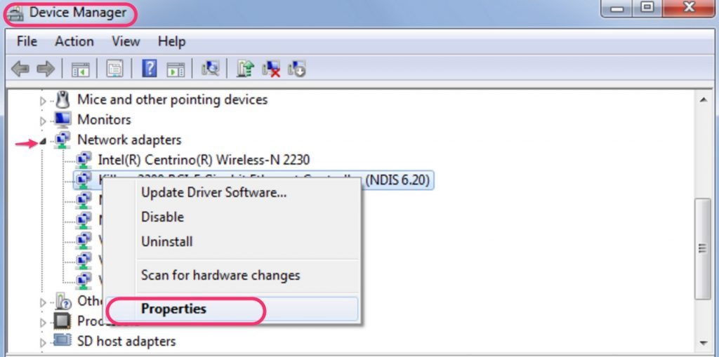 how to change mac address on windows