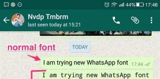 whatsapp fixedsys hidden font