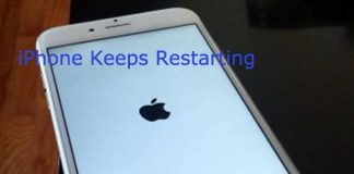 iphone keeps restarting