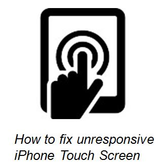 iphone touch screen not working
