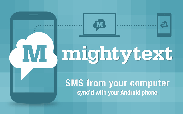 mighty text app for computer to android sms