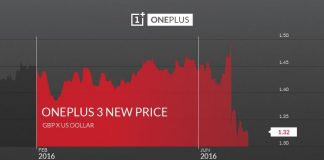 oneplus 3 price increase