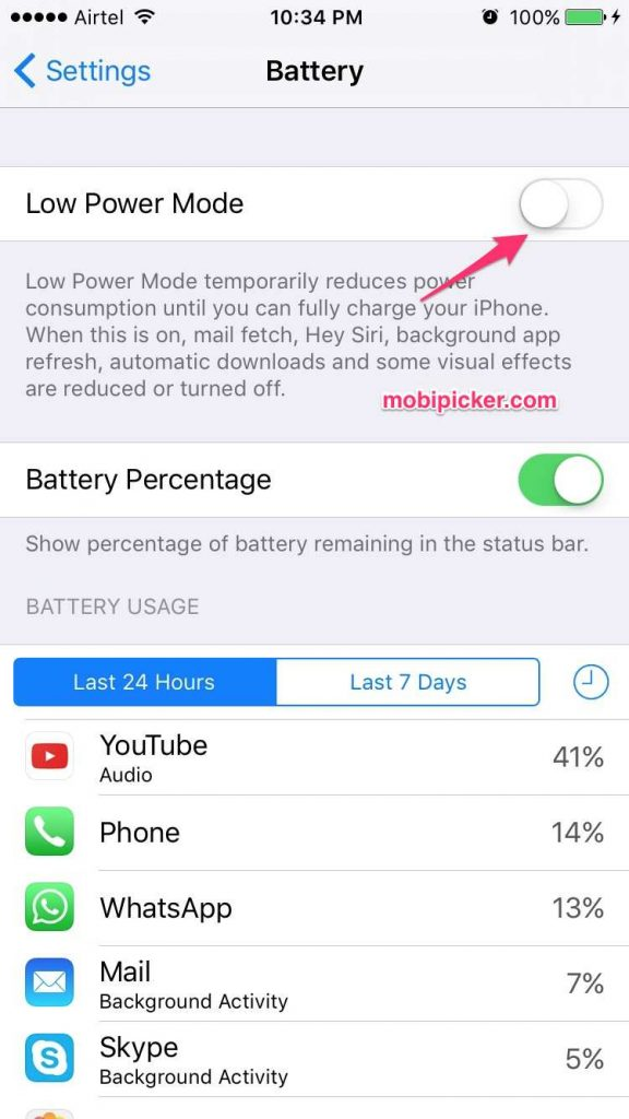 how to save battery on pokemon go