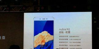 nubia n1 slides