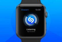 shazam apple watch apps