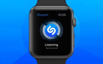 shazam apple watch apps
