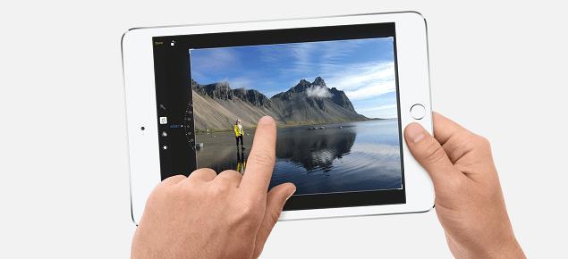 iPad mini 5 announcement with iPhone 7