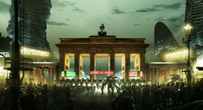 Deus Ex: Mankind Divided art