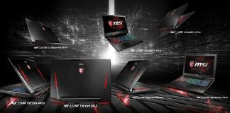MSI VR gaming laptops announcing soon